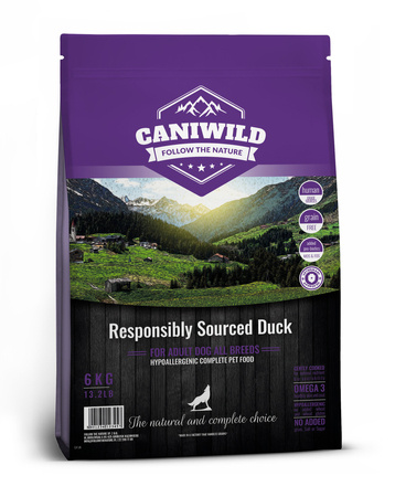 Caniwild Adult Freshly Prepared British Duck