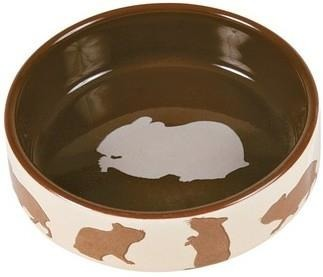 Ceramiczna miska dla chomika albo kociąt - 80 ml