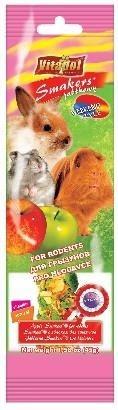 Jabłkowe kolby uzupełniające dietę gryzoni