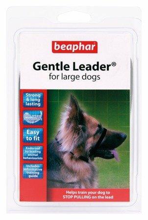 Kantar, obroża uzdowa dla psów dużych ras Holter Gentle Leader czarna