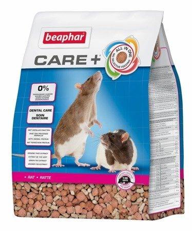 Karma klasy Super Premium dla szczurów Care+ Rat 5kg