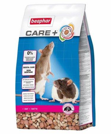 Karma klasy Super Premium dla szczurów Care+ Rat 700g