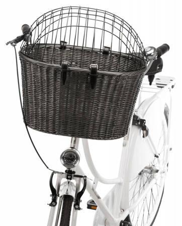 Kosz dla psa do mocowania na kierownicę roweru