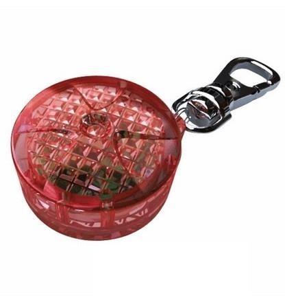 Okrągła zawieszka do psiej obroży - na baterie