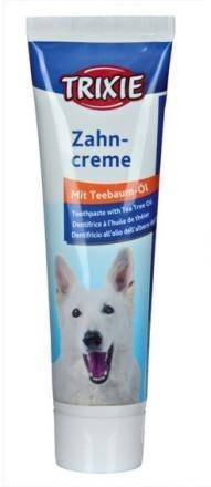 Pasta do zębów dla psów z dodatkiem olejku herbacianego