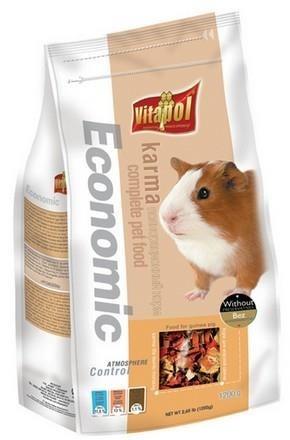 Pokarm ekonomiczny dla świnek morskich - 1200 g