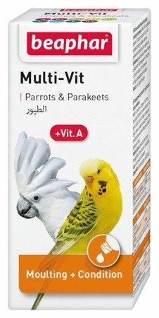 Preparat witaminowy dla papug Bogena Multi-Vit for Parrots 20ml