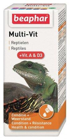 Preparat witaminowy dla ryb, żółwi oraz gadów Multi-Vit 20ml