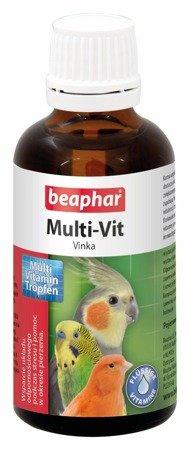 Preparat witaminowy w kroplach dla ptaków Multi-Vit Vinka 50ml