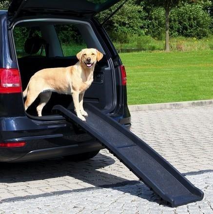 Rampa antypoślizgowa dla psów do 90 kg - 156x40 cm