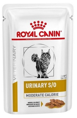 Royal Canin Veterinary Diet Cat Urinary Moderate Calorie saszetka 85g