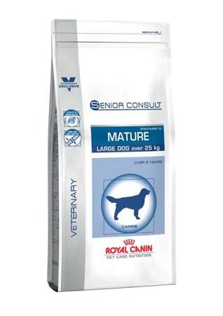 Royal Canin Veterinary Diet Dog Senior Consult Mature Large Dog Vitality & Joint 25 14kg