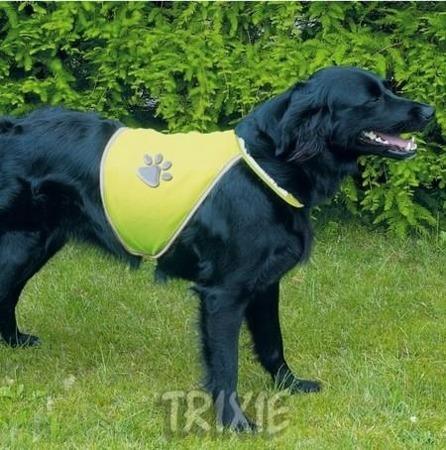Dwupunktowa kamizelka z odblaskiem dla psa - rozmiar M
