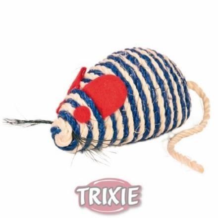 Trixie Mysz z sizalu 10cm