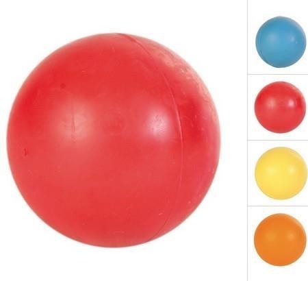 Twarda piłka dla psa z gumy - 6,5 cm