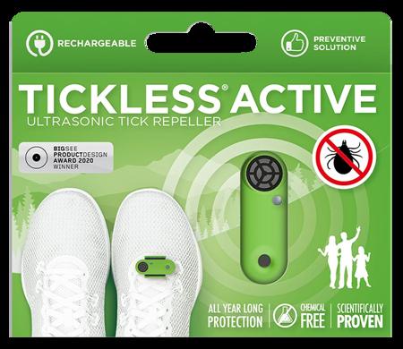 Urządzenie dla ludzi, które chroni przed kleszczami Tickless Baby