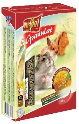 Granulat paszowy dla gryzoni i królików - 1 kg