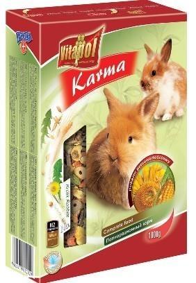 Pełnowartościowa karma codzienna dla królików - 1000 g