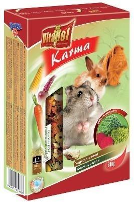 Warzywne pożywienie dla gryzoni - 300 g