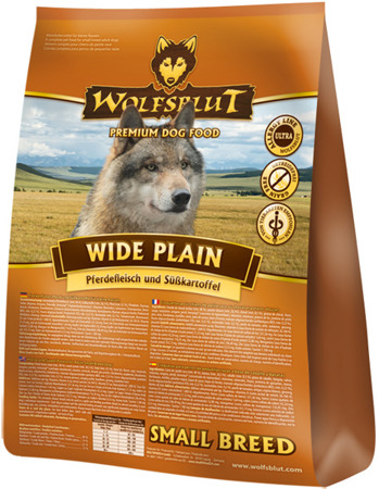 Wolfsblut Dog Wide Plain Small konina i bataty
